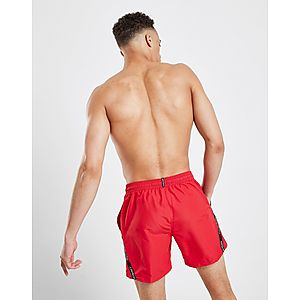 436594c5c4 ... Calvin Klein Diagonal Tape Medium Swim Shorts