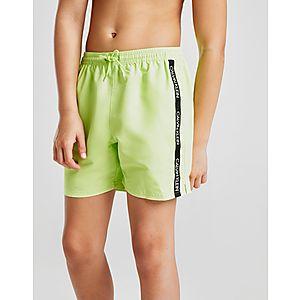fc5054b5e9 Calvin Klein Tape Swim Shorts Junior ...