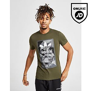 best sneakers cc914 e527e adidas Originals Trefoil Label T-Shirt ...