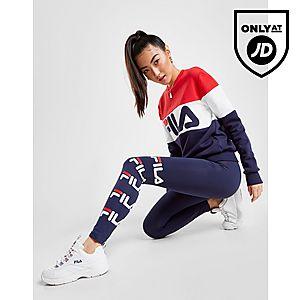 top quality official images top fashion Fila Panel Logo Crew Sweatshirt