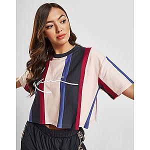 1514788e1fce ... Karl Kani Signature Stripe Crop T-Shirt