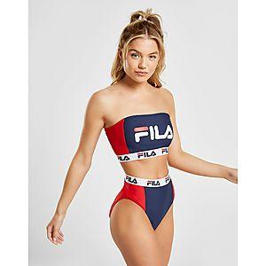 42fff31f70e Fila Colour Block Bandeau Bikini Top ...