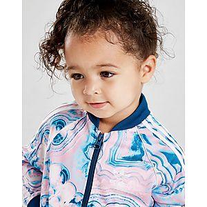 e17bb3f87 ... adidas Originals Girls  Marble Superstar Tracksuit Infant
