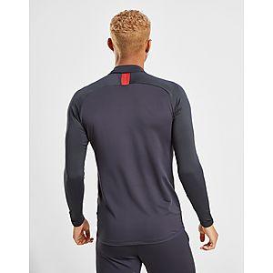 finest selection 0429c 6a152 ... Nike Paris Saint Germain Strike Drill Long Sleeve Top
