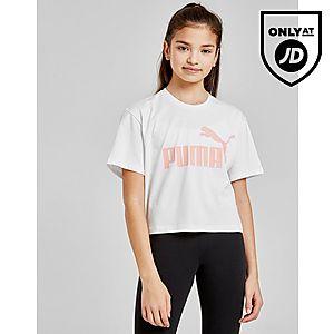 b683da7b16 PUMA Girls' Core Crop T-Shirt Junior