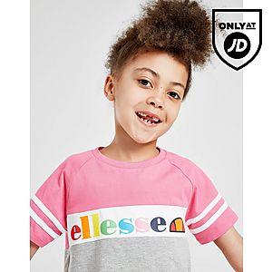 42951b69bb2cd ... Ellesse Girls  Pratolina T-Shirt Shorts Set Children