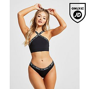 aedbe8fca8f ... Elasticated Waist Swimsuit. €20.00. Ellesse Tape Bikini Bottoms ...