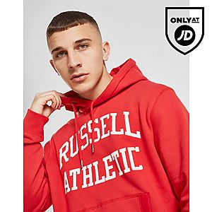 f91feebfc3 Russell Athletic Arch Logo Hoodie ...
