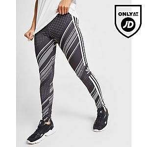 0f0ba6a0ef2 adidas Originals All Over Print Trefoil Leggings adidas Originals All Over  Print Trefoil Leggings