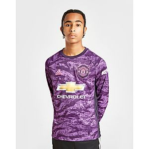 462f5b68 adidas Manchester United 19/20 Keeper Home Shirt Jnr ...