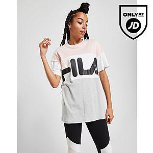 53cf8691f23f Fila Womens Clothing - T-Shirts | JD Sports Ireland