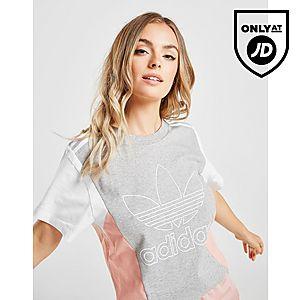 Shirt T Originals Colour Outline Adidas Block 8nvwyNm0O