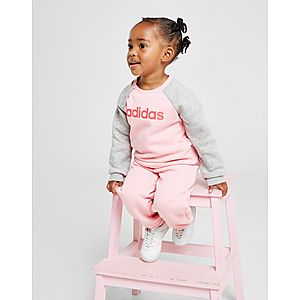 the best attitude e5212 55345 adidas Girls  Core Crew Tracksuit Infant ...