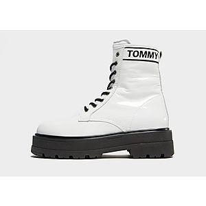 00af86de4b9 Tommy Jeans Patent Platform Boots Women's