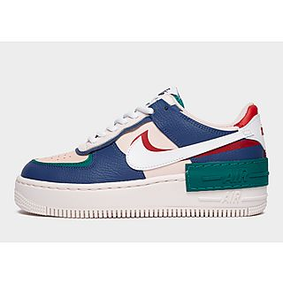 Nike Deep Royal Blue Air Force 1 Limited Edition Paris Collection Sneakers Size US 7.5 Regular (M, B)