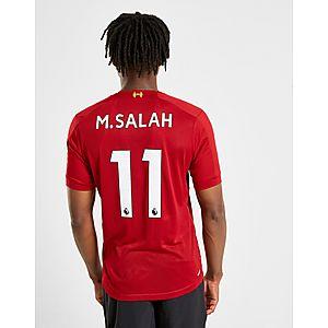 7e08dfa8 New Balance Liverpool FC 2019/20 Salah #11 Home Shirt ...