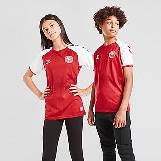 Hummel Denmark 2021/22 Home Shirt Junior