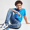 Blue Lacoste Small Logo T-Shirt Junior