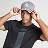 Grey New Era MLB 9FORTY New York Yankees Cap