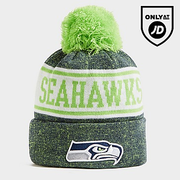 New Era NFL Seattle Seahawks Pom Beanie Hat