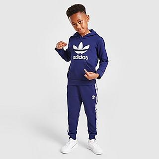 adidas Originals Trefoil Hooded Tracksuit Children