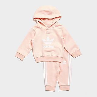 adidas Originals Girls' Overhead Trefoil Tracksuit Infant