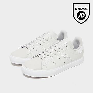 adidas Ssmith Vulc J Gry/slv$