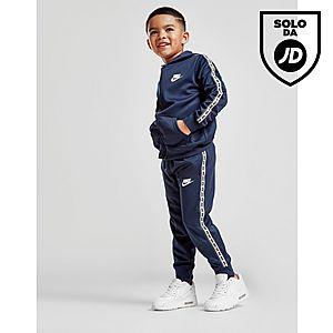 d8dae14ae7 Nike Repeat Tape Poly Full Zip Tracksuit Children ...