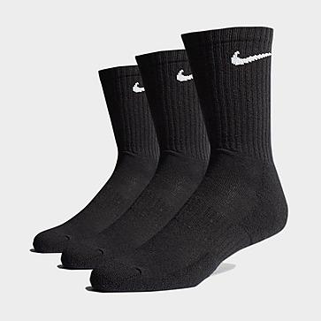 Nike 3-Pack Cushioned Crew Socks