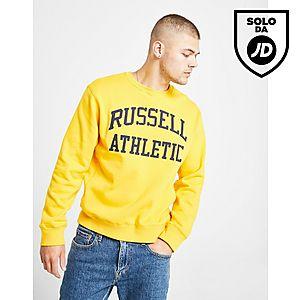 93e15e143 Russell Athletic Arch Logo Felpa a girocollo