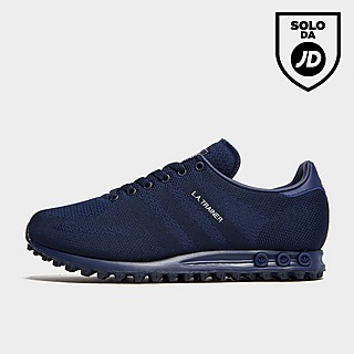 adidas originals la trainer woven blu