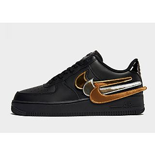 air force 1 con baffo nero