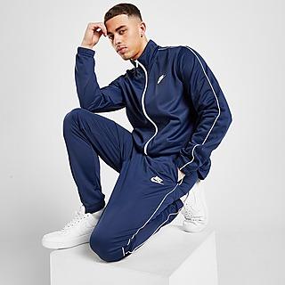 Nike Tuta Sportiva Poly Blu Uomo