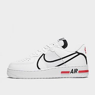 air force 1 nere con segno bianco