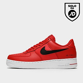 air force 1 nere e rosse