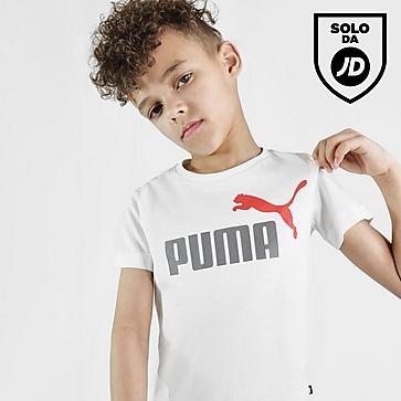 Puma Essential Logo T-Shirt & Shorts Completo Bambino