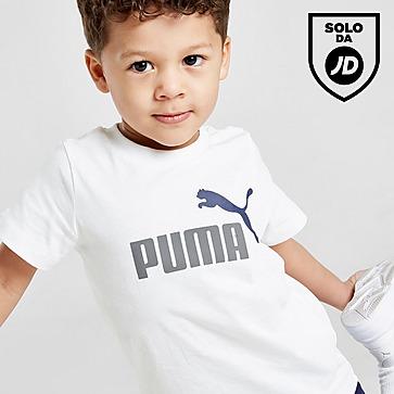 Puma Essential Logo T-Shirt & Shorts Completo Neonato