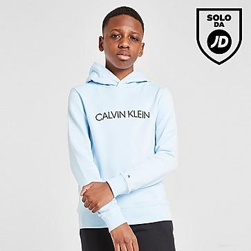 Calvin Klein Institutional Logo Felpa con cappuccio Junior