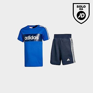 adidas Linear Essential T-Shirt/Shorts Completo Neonato