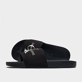 Calvin Klein Jeans Monogram Slides