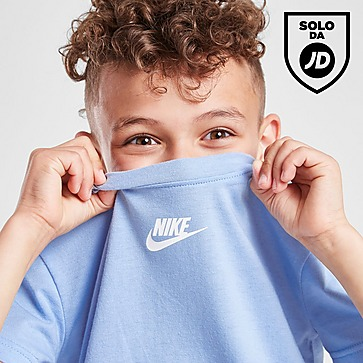 Nike Swoosh Tape T-Shirt & Shorts Completo Bambino