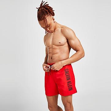 Calvin Klein Side Linear Logo Swim Shorts