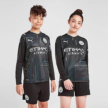 Puma Manchester City FC 2021/22 GK Home Shirt Junior