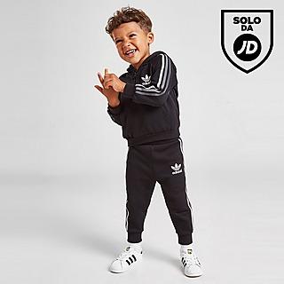 adidas Originals Tri Stripe 1/4 Zip Set Infant