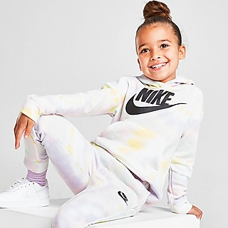 Nike Club Tie Dye Felpa con cappuccio Bambina
