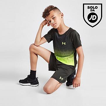 Under Armour Tech Fade T-Shirt/Shorts Set Children