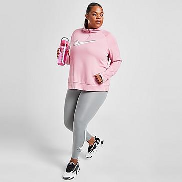 Nike Plus Size Double Swoosh 1/4 Zip Maglia tecnica Donna