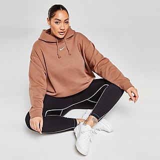 Nike Plus Size Trend Fleece Felpa con cappuccio Donna