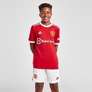 adidas Manchester United 2021/22 Home Shorts Junior