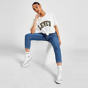 Levis High Waist Mom Jeans Donna
